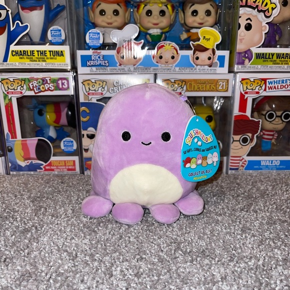 """Violet the Octopus 5"""" Squishmallow"""